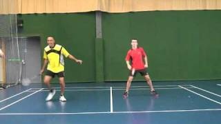 Badminton-Basic Positioning Practice in Doubles