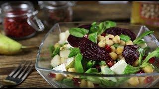 Как приготовить тёплый салат со свеклой и нутом | Простой рецепт Агро-Альянс