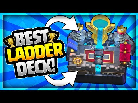 BEST LADDER DECK for TROPHIES!? HIGHEST WIN % Arena 10 & Arena 11 - Clash Royale Strategy