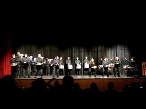 Lake Brantley High School Percussion - Cadences 5-17-2016