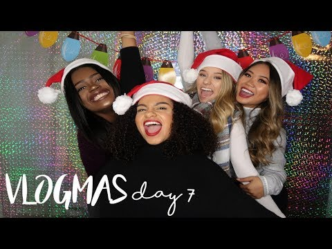 KARAOKE + CHRISTMAS PHOTOSHOOT! | VLOGMAS DAY 7