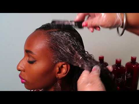 Step by Step Steel Afro 1Ka Hair