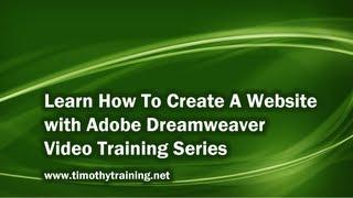 1 - Introduction to Dreamweaver Tutorial (CS5)