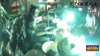 Killing In The Name - Drum cam - Francis Lima ,banda Rolls-Rock