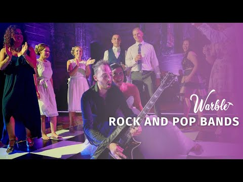 Amazing Rock and Pop Cover Bands Available to Hire from Warble Entertainment Agency
