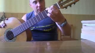 Уроки гитары.Красивая мелодия для начинающих 2