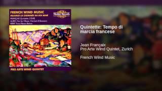 Quintette: Tempo di marcia francese