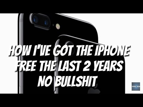 How To Get The Iphone For Free No Bs
