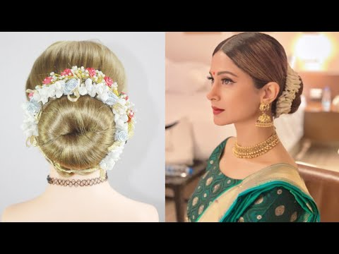 Simple Juda  | Jennifer Winget Hairstyle | Juda Hairstyle | Bun Hairstyle