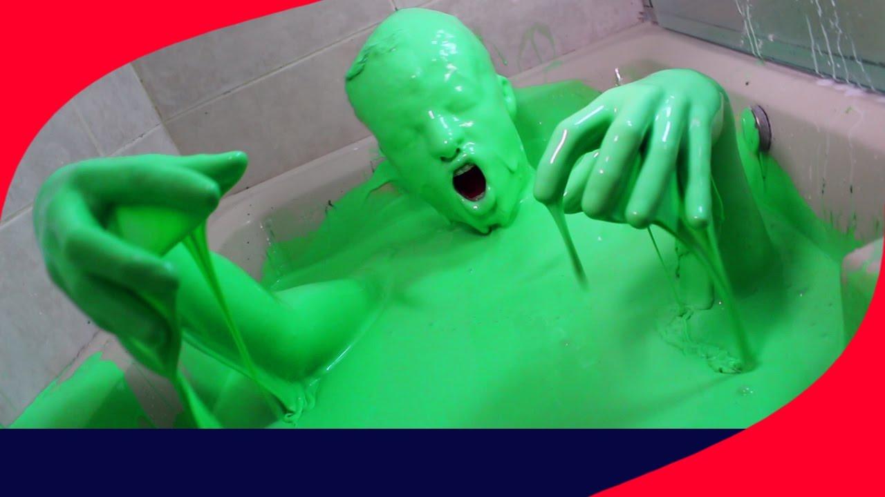 Roblox Banheira De Slime - Super Banheira De Slime Vloggest