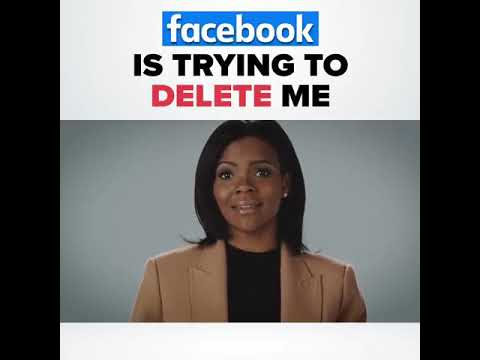 Facebook wants to delete me - Candace Owens