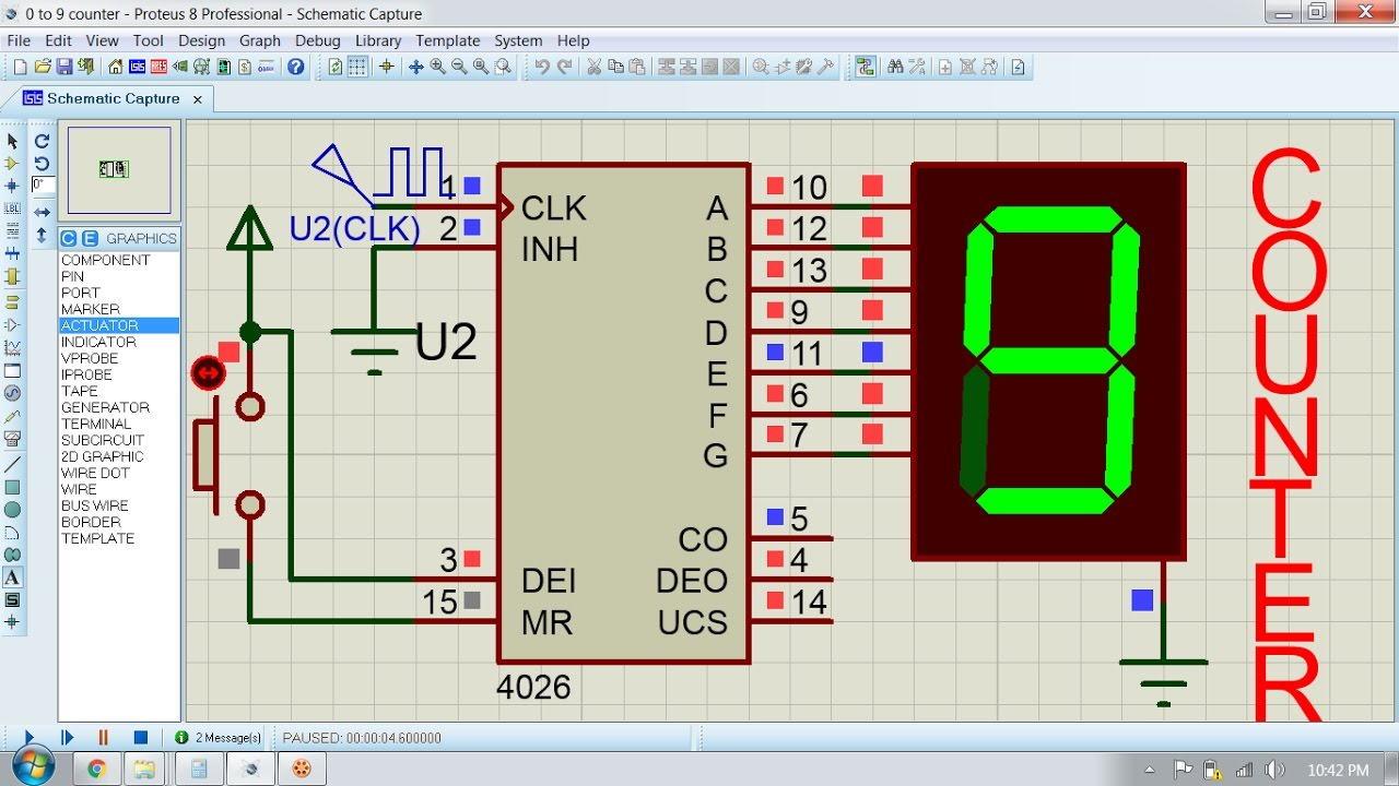 small resolution of digital counter circuit