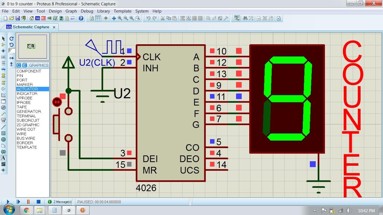 hight resolution of digital counter circuit
