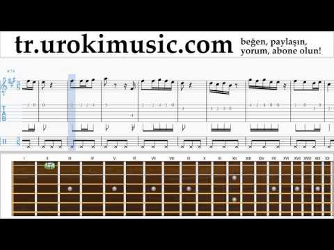 Gitar dersleri İrem Derici - Kalbimin Tek Sahibine Bölüm#2 um-723