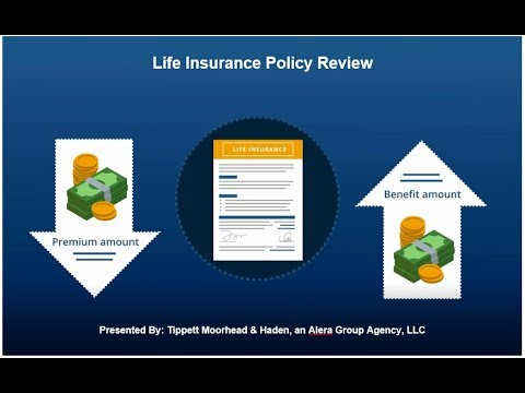 Life Insurance Policy Review - Tippett Moorhead & Haden