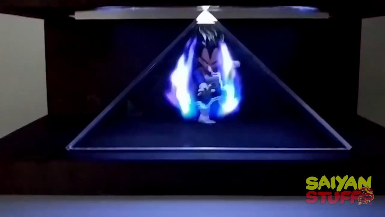 DRAGON BALL VEGETA FIGURES HOLOGRAPHIC ENERGY BLAST