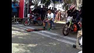SUZUKI MEGA CAMP drag bike Palangkaraya 29 - 30 juni 2013
