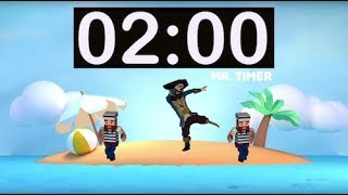 2 Minute Timer with Music for Kids, Classroom! 2 Minute Countdown with Alarm! Fun Timer 2 Minutes!