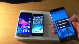 -sia- обзор - тест IPHONE 7 ИГРЫ !!  - LG G5 - ONEPLUS 3