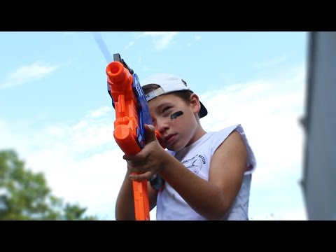 Thumbnail: Nerf War: Air Drone Attack