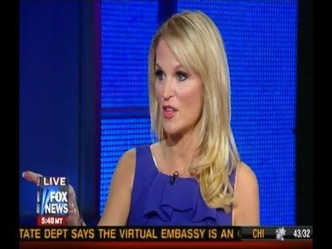 Juliet Huddy says cunt on Fox & Friends news...