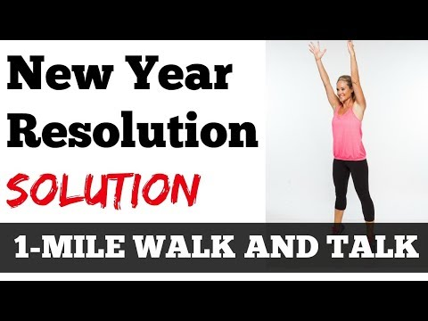 January Jump Start HERE: 1 Mile Walk and Talk: How to Achieve Your New Year's Resolutions