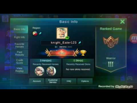 How To Switch Account In Mobile Legends Fixed Read
