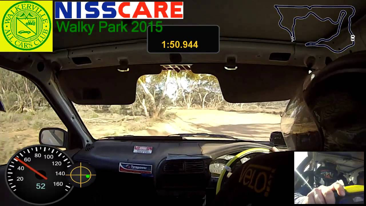 2015 NIsscare Rallysprint Walky Park T3 L2