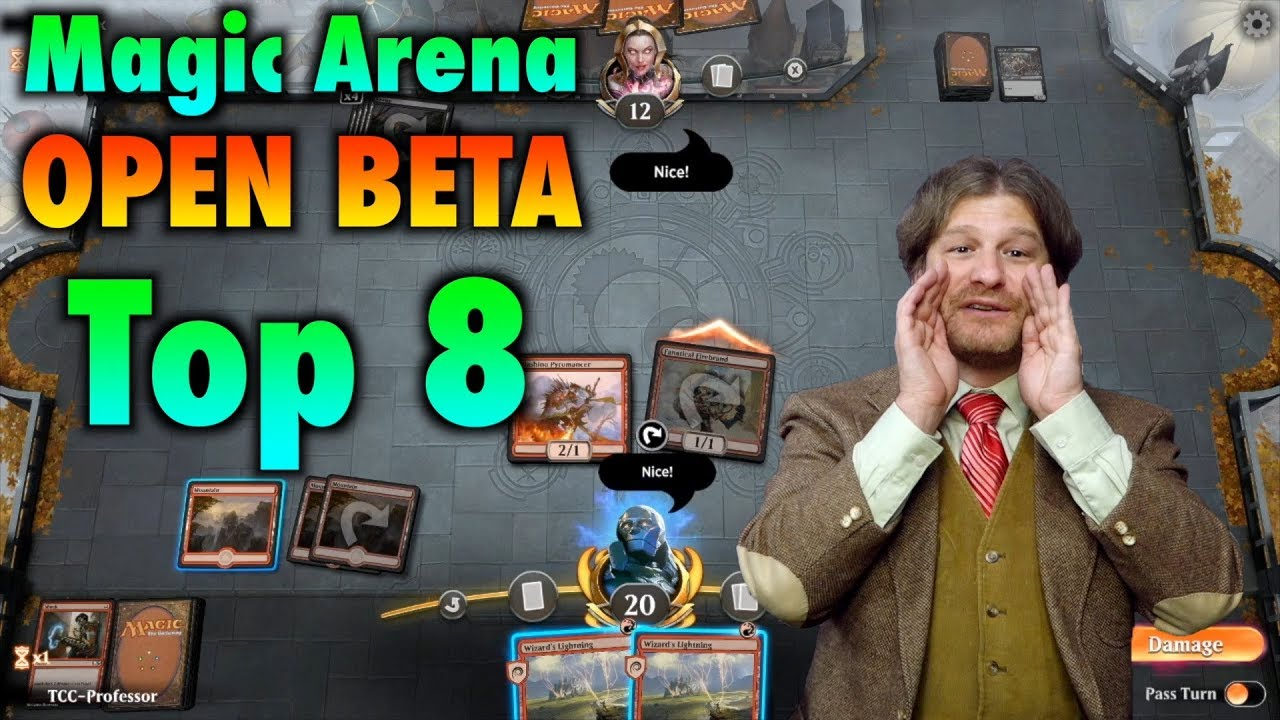 The Magic: The Gathering Arena Open Beta Top 8 Needed Improvements