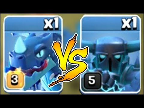 S.  PEKKA Vs. E. DRAGON!?!