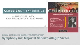 Georges Bizet : Symphony in C Major : III.Scherzo Allegro Vivace - ClassicalExperience
