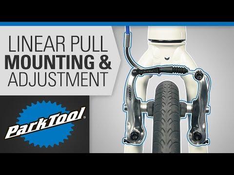 Brake Caliper Mounting & Adjustment - Linear Pull & V Brake