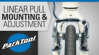 Brake Caliper Mounting & Adjuṡtment - Linear Pull & V Brake