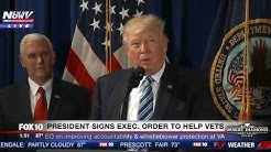 FNN: Trump Signs Executive Order on to Help Vets, Improve Veterans Affairs (VA) Dept. - FULL VIDEO