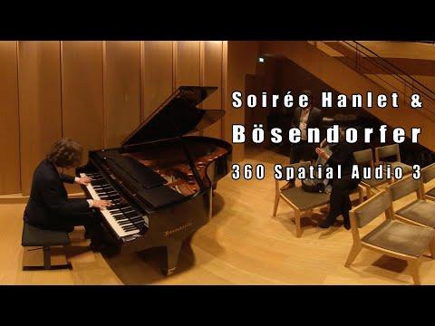 Bösendorfer 3 - Bach Invention No. 8 in F major, BWV 779 - 360 Spatial Audio