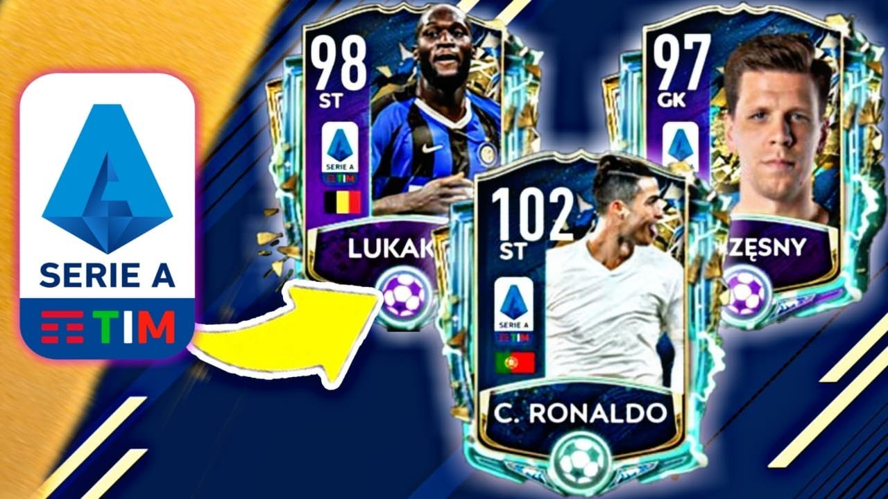 Serie A Totssf Is Finally Here 102 Ronaldo Concept Serie A Designs Fifa Mobile 20 Tots Youtube
