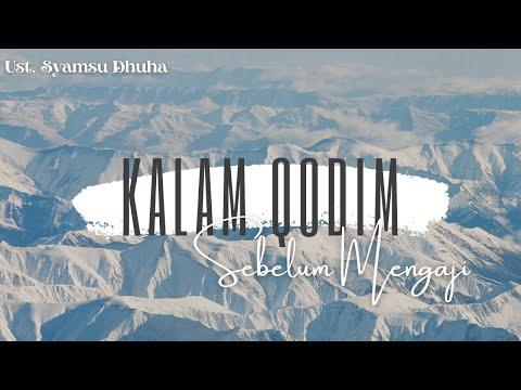 Kalam Qodim Doa Sebelum Ngaji Metode An Nahdiyah