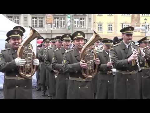 Vystoupení Ústřední hudby AČR a VUS Ondráš