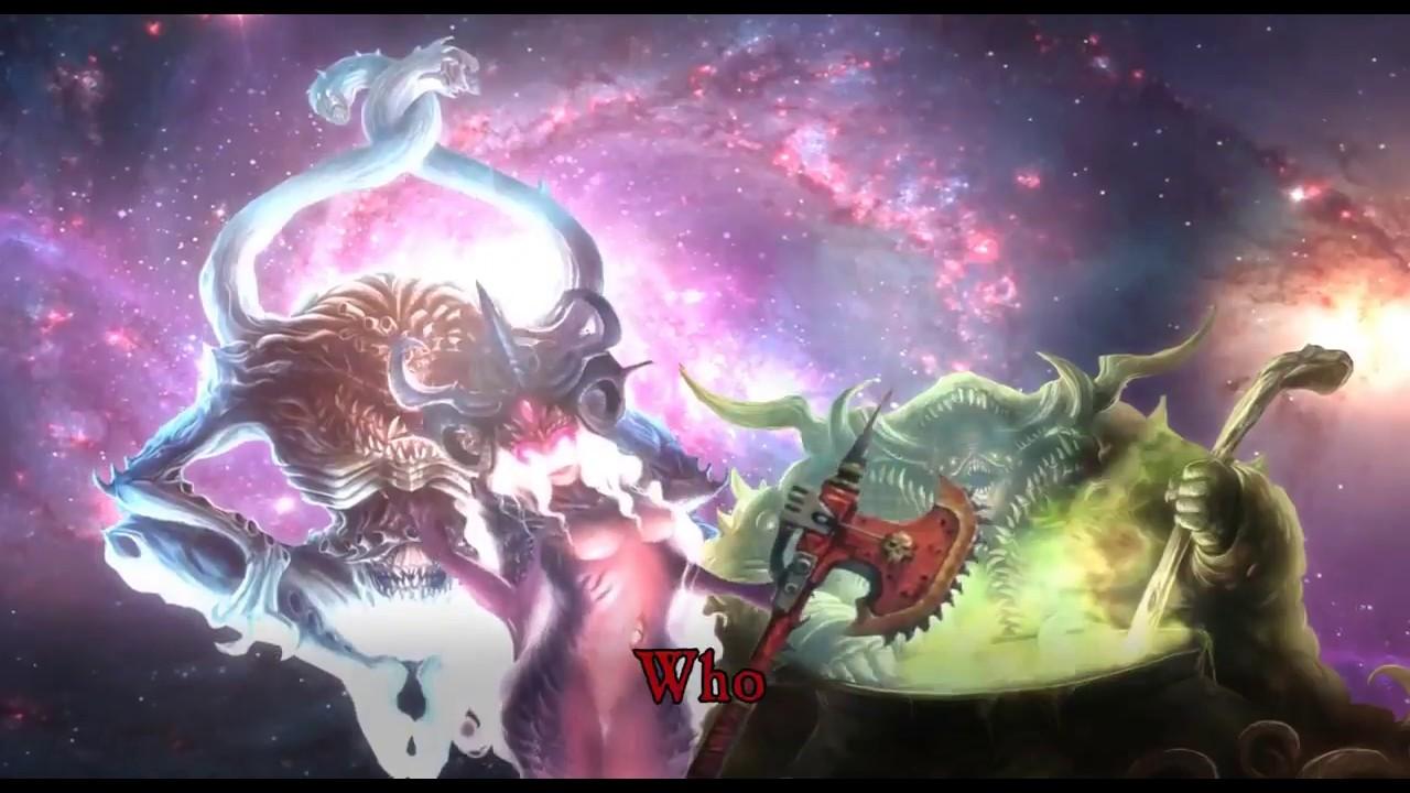 Warhammer 40k Chaos Short Slaanesh The Chainaxe Youtube