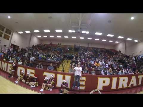 Byng High School Band Court Show(Trombone Cam)
