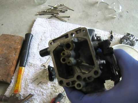 cv carb complete pull apart and clean fr sport prob 48/49