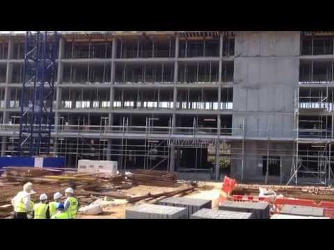 Holiday Inn Express & Crowne Plaza Aberdeen site visit