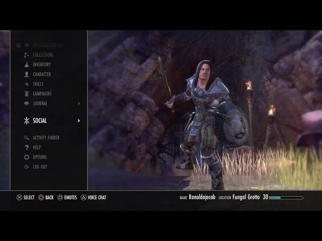 The Elder Scrolls Online PS4 de RonaldoJacob2 ao vivo