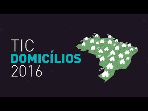 TIC Domicílios 2016
