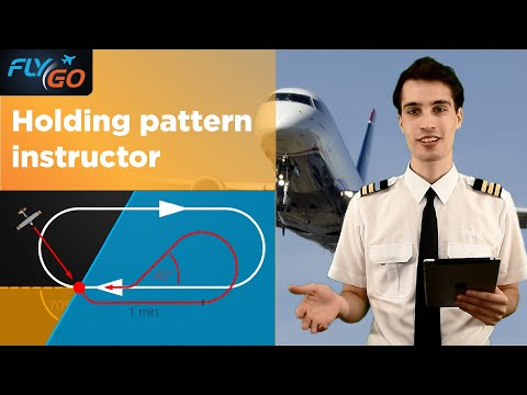 Easy Holding Pattern Tips - How to decide in 3 Sec - FlyGo IFR Trainer
