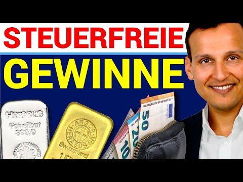 GOLD & SILBER - So machen Sie steuerfreie Gewinne mit Edelmetallen ! (2020)