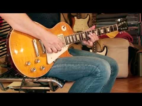 """2010 """"Greeny"""" aged Gibson (Gary Moore) Collector's Choice No. 1 ( CC-1 ) Part2"""