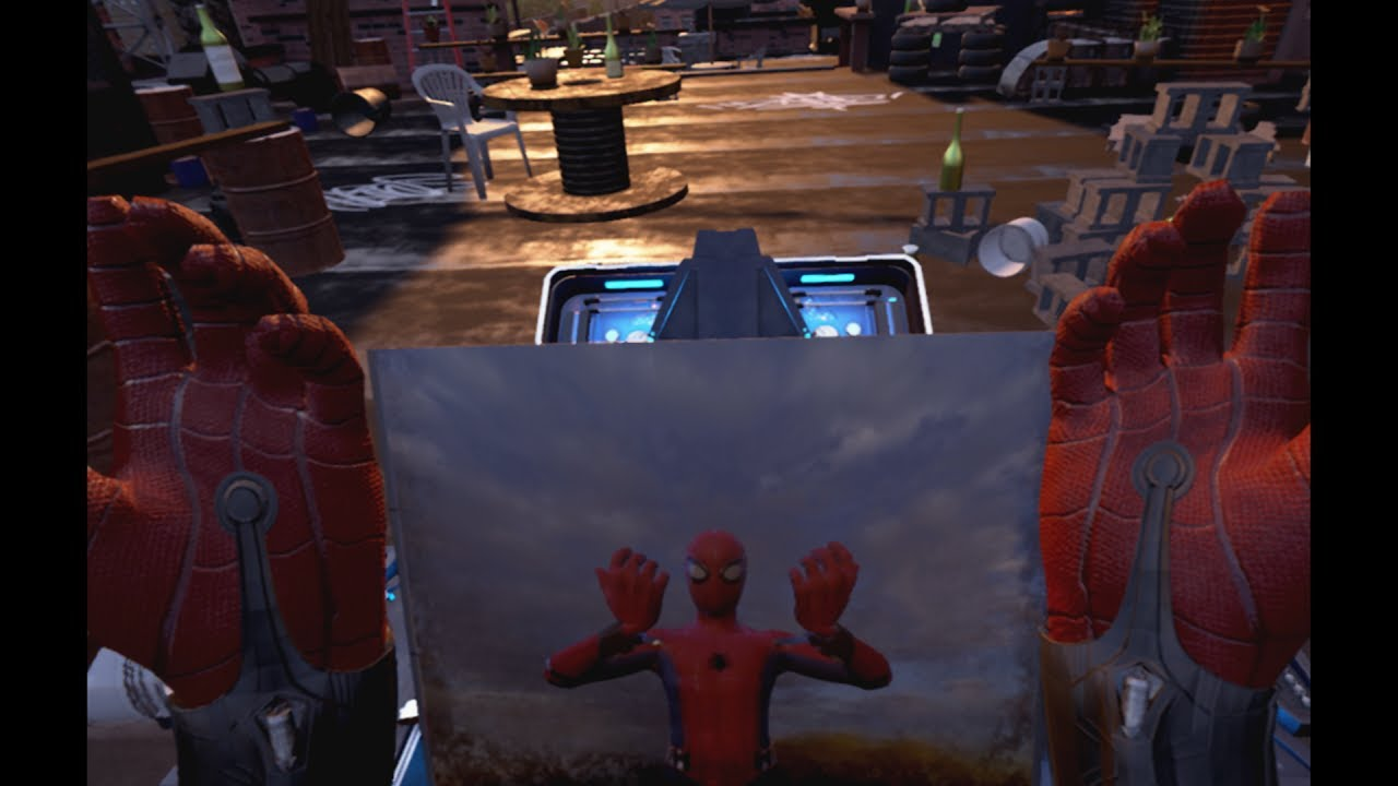 Spider Man Homecoming Virtual Reality Experience