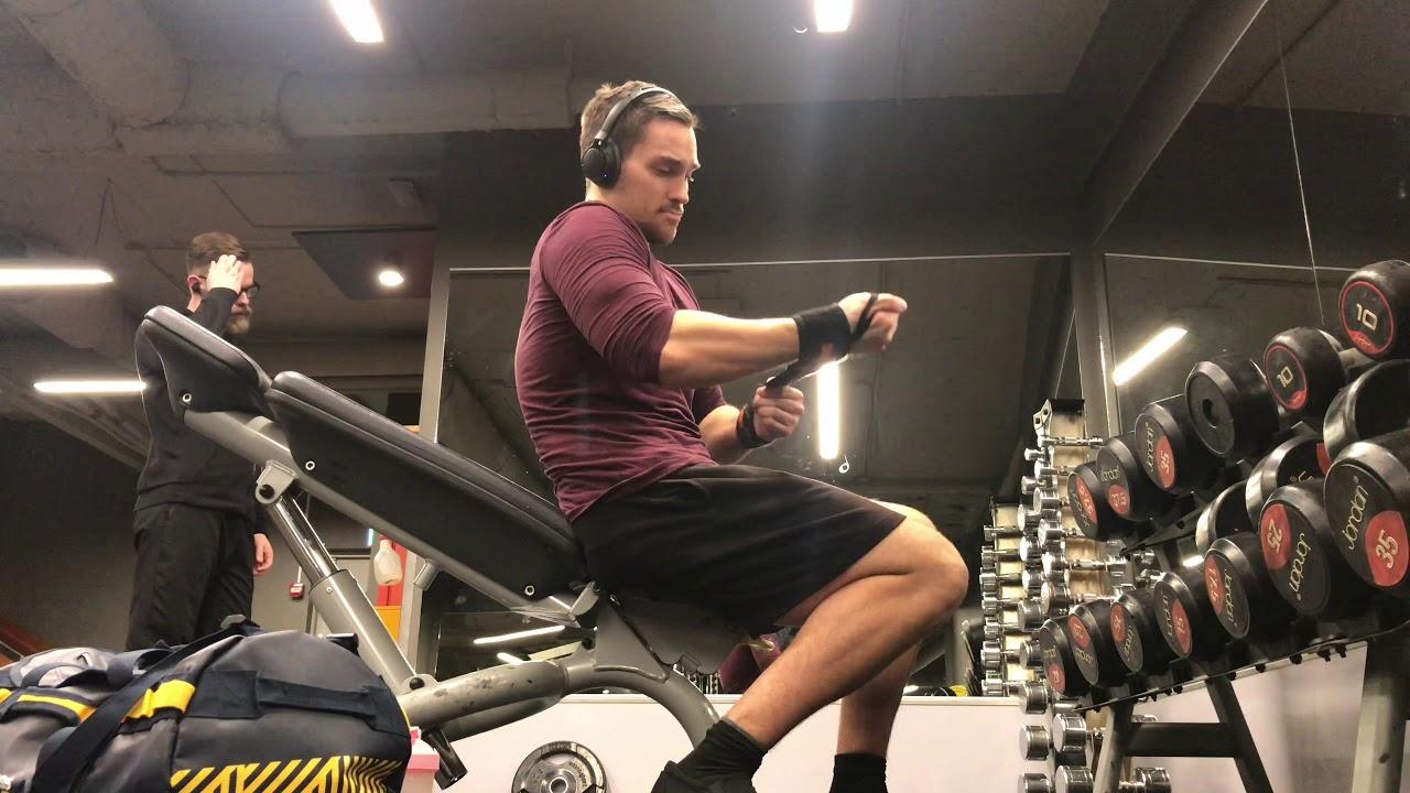 Pre Workout Test