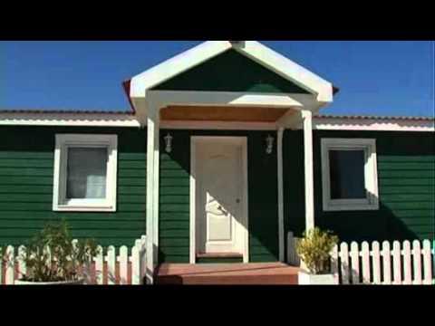 Casas de madera modelo darro youtube - Modelos casas madera ...